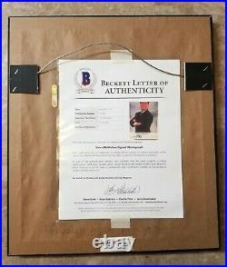 1994 WWF Vince McMahon Original Promo FULLY SIGNED Beckett Full Letter Framed