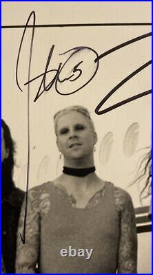 2007 Geffen Rob Zomibie Band Promo Photo John 5 Piggy D Tommy Clufetos Signed