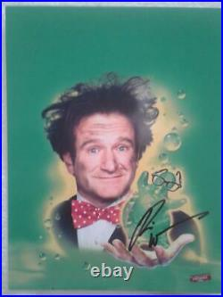 AWESOME 8x10 FLUBBER Movie Promo Hand-Autographed by ROBIN WILLIAMS withCOA -HOT