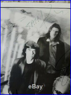 Alice in chains signed press photo layne staley rare promo