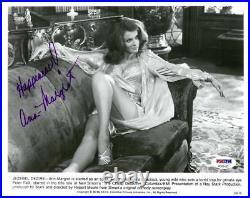Ann Margret Signed The Cheap Detective Auto 8x10 B/W Promo Photo PSA #AD61433
