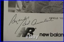 Arnold RED Auerbach Signed Photo New Balance 5x8.5 Promo Auto Photo Celtics JSA