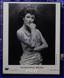 Autographed SENSATIONAL SHERRI PROMO WWF Wrestling
