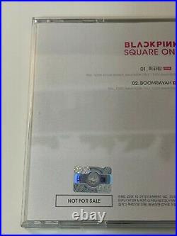 BLACKPINK autographed SQUARE ONE signed Promo CD 1st Digital Single SUPER RARE