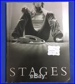 BRITNEY SPEARS signed STAGES photo book authentic autograph DWAD tour promo +DVD