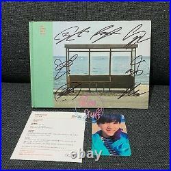 BTS You Never Walk Alone YNWA PROMO Signed Autographed Album + Suga Yoongi Photo