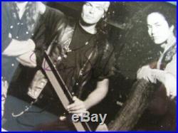 Badlands 1991 Voodoo Highway 5 1/2 X 7 Promo Pic Autographed Jake E Lee Gillen