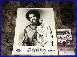Billy Ocean Rare Hand Signed Autographed 8x10 Promo Press Photo Caribbean Queen