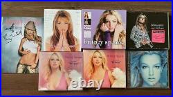 Britney Spears Hand Signed Korea Promo Photo Book & Limited Edition Set / Rare