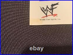 CHYNA Autographed WWF (WWE) PROMO Photo withPSA DNA AUTHENTICATION DEGENERATION X