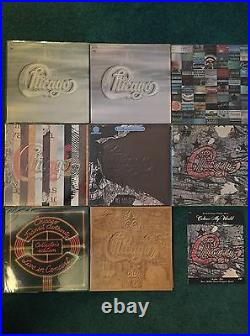 Chicago Albums 17+ Lot-Promos, Signed, Japanese, Picture, Cetera Albums + 45s