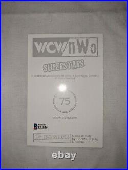 Chris Benoit Signed AUTOGRAPH 5 x 7 orig WCW ROOKIE PROMO 1998 WWE BECKETT AUTH