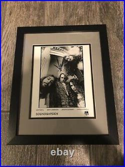 Chris Cornell Signed Framed Soundgarden Promo Photo Jsa Coa Rare Legend Rock