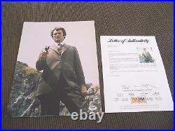 Clint Eastwood Dirty Harry Signed Autographed 11x14 Promo Photo PSA Certified