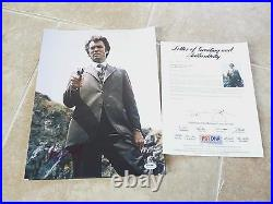 Clint Eastwood Dirty Harry Signed Autographed 11x14 Promo Photo PSA Certified #7