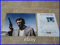 Clint Eastwood Dirty Harry Signed Autographed 11x14 Promo Photo PSA Certified #9