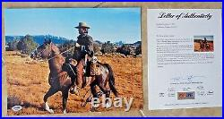 Clint Eastwood Josey Wales Signed Autographed 11x14 Promo Photo PSA Certified 16