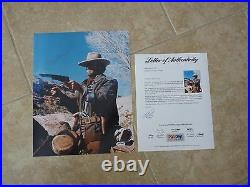 Clint Eastwood Josey Wales Signed Autographed 11x14 Promo Photo PSA Certified 19