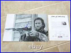 Clint Eastwood Josey Wales Signed Autographed 12x18 Promo Photo PSA Certified