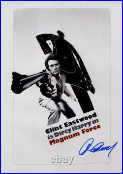Clint Eastwood Signed 12x18 Magnum Force Promo Poster Photo UACC RD COA