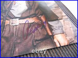 Clint Eastwood Western Signed Autographed 11x14 Promo Photo PSA Certified