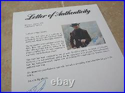 Clint Eastwood Western Signed Autographed 11x14 Promo Photo PSA Certified #10