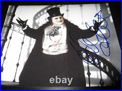 DANNY DEVITO SIGNED AUTOGRAPH 8x10 PHOTO BATMAN PROMO PENGUIN IN PERSON COA H