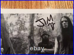DOWN fanclub eyehategod Promo Picture Autographed Full Band Lp Phil Anselmo coc