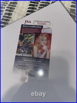Daffney signed tna promo autograph wcw photo Jsa Certified