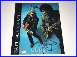 Daryl Hall & John Oates Authentic Band Signed Autographed 8x10 Promo Photo PSA