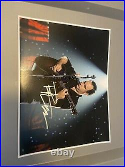 Dave Matthews Signed Autographed Promo Photo Live Jam Band