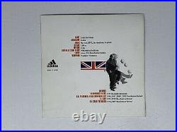 David Beckham Signed Adidas Promo Card Predator Man Utd Manchester United