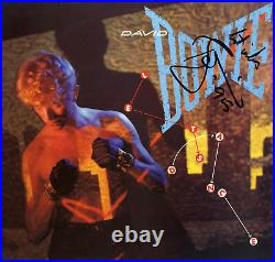 David Bowie (+) SINGER autograph, In-Person signed promo postcard
