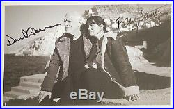 David Gilmour signed photograph Pink Floyd autograph Polly Samson Promo