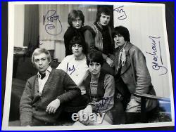 Deep Purple Ian Gillan Roger Glover Episode Six Signed Photo Promo 8 x 10 1968