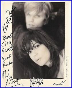 Divinyls signed promo photo by Chrissy Amphlett and Mark McEntee rare