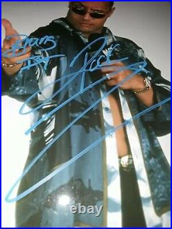 Dwayne The Rock Johnson Original Autograph Signed 8x10 Promo Photo COA WWF WWE