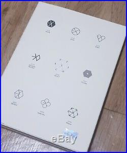 EXO EXACT Album PROMO Autograph 100% Original Signed CD KOR SELLER +PHOTO CARD