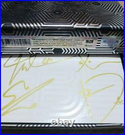 EXO addiction Autographed Signed Promo Album + Photo card KPOP KOR SELLER