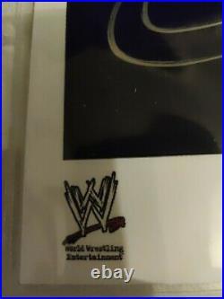 Eddie Guerrero original signed Autograph WWE promo Photo Wrestling Latino Heat