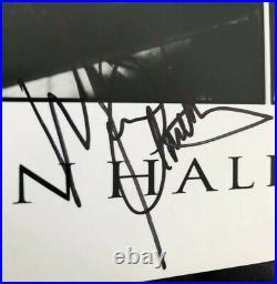 Eddie Van Halen Signed Autographed Balance Promo Photo Sammy Hagar