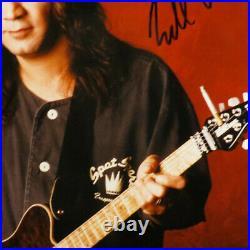 Edward Van Halen Signed/Autographed RARE Promo Bowling Shirt Ernie Ball Guitar