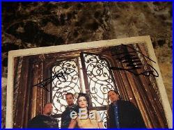 Evanescence Rare Band Signed Promo Press Photo AMY LEE Autographed + Photo + COA