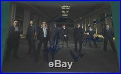 Fringe Cast Signed Promo Photo By 5 Autograph Jackson Acevedo Valley Jasika + C