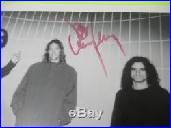 Full Band Autograph / Signed Tool 8 X 10 Promo Photo