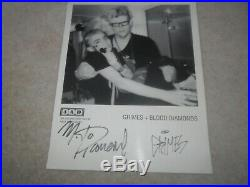 GRIMES Claire Boucher 4AD Blood Diamonds AUTOGRAPHED Promo Press Picture 8 X 10