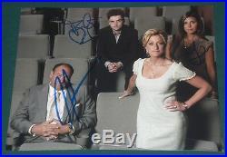 Gandolfini Iler & Sigler Signed Sopranos Family Promo 8x10 Photo Autograph Coa