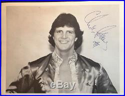 Gentleman Chris Adams (d 2001) RARE Signed Original 8.5x11 Wrestling Promo Photo