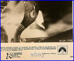 Harrison Ford Signed Publicity Promo 8x10 Photograph Raiders Of The Lost Ark COA