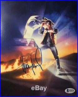 Huey Lewis signed autograped Back to the Future 8x10 poster promo photo COA